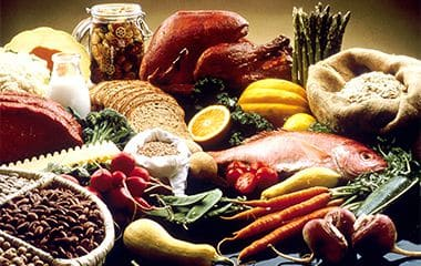 תפריט מזון טבעי ואורגני
